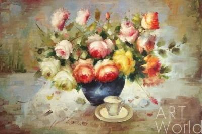 Натюрморт с розами - перейти в каталог