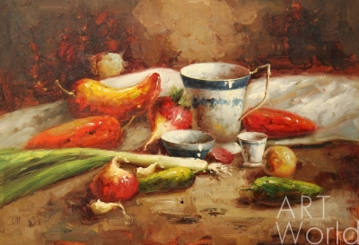 Натюрморт с овощами - перейти в каталог