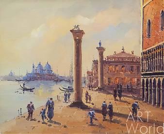 """Картина маслом """"Сны о Венеции N40"""""""